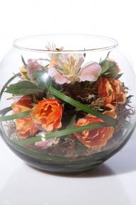 Композиции из сухоцветов Скромная красавица